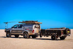 MDC Explorer Rear Fold Offroad Camper Trailer